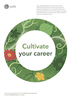 #ECRWednesday Webinars - cultivate your career
